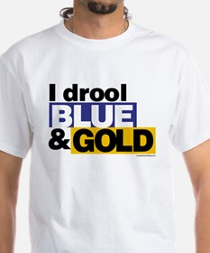 I Drool Blue and Gold Shirt