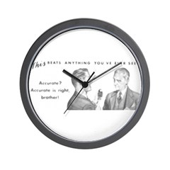 Two Accurate Guys Wall Clock