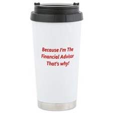 Financial Advisor Travel Mug