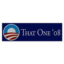 That One Bumper Bumper Sticker