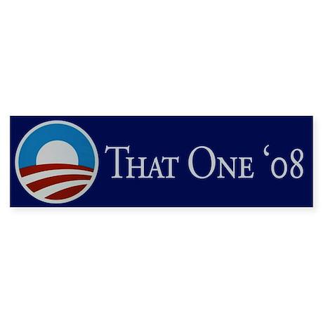 That One Bumper Sticker