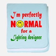 I'm perfectly normal for a Lighting d baby blanket