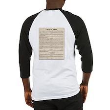 Preamble & Bill of Rights Baseball Jersey