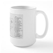 Dixie Square Map Mug