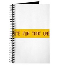 Cute Voted one Journal