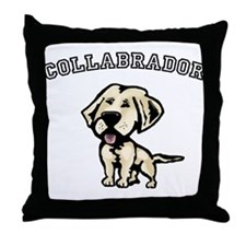 Collabrador Throw Pillow