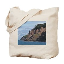 Lake Ontario And Chimney Bluffs Tote Bag