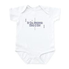 Funny Pong Saying Infant Bodysuit