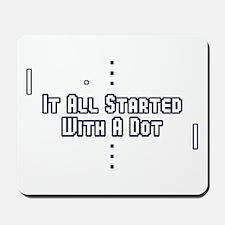Funny Pong Saying Mousepad