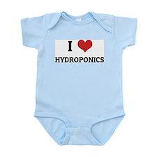 I Love Hydroponics Infant Creeper