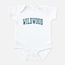 Wildwood New Jersey NJ Blue Infant Bodysuit
