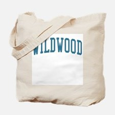 Wildwood New Jersey NJ Blue Tote Bag