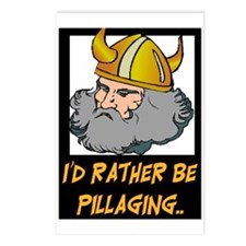 I'D RATHER BE PILLAGING Postcards (Package of 8)