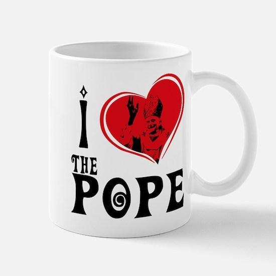 I Love The Pope Mug