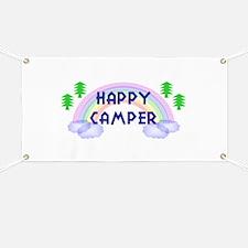 """Happy Camper"" Banner"