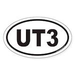 UT3 Euro Oval Sticker