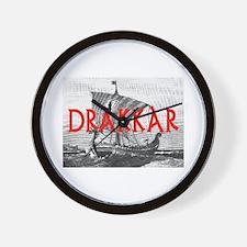 DRAKKAR (Tall Ship) Wall Clock