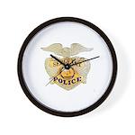 Police Sergeant Badge Wall Clock
