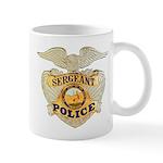 Police Sergeant Badge Mug