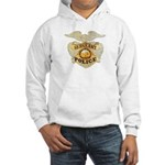 Police Sergeant Badge Hooded Sweatshirt