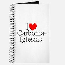 """I Love (Heart) Carbonia-Iglesias"" Journal"