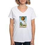 Hot Air Halloween Women's V-Neck T-Shirt