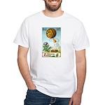 Hot Air Halloween White T-Shirt