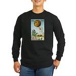 Hot Air Halloween Long Sleeve Dark T-Shirt