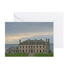 French Castle At Ft Niagara Greeting Cards (Pk of