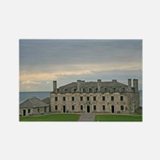 French Castle At Ft Niagara Rectangle Magnet