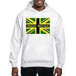 Black Union Jack Hooded Sweatshirt