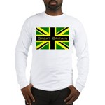 Black Union Jack Long Sleeve T-Shirt