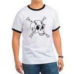 skull crossbones Ringer T