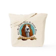 Love Me, Love My Dog - Basset Hound Tote Bag