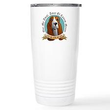 Love Me, Love My Dog - Basset Hound Travel Mug