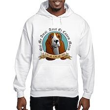 Love Me, Love My Dog - Basset Hound Hoodie