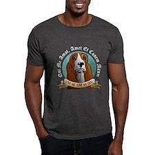 Love Me, Love My Dog - Basset Hound T-Shirt