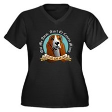 Love Me, Love My Dog - Basset Hound Women's Plus S