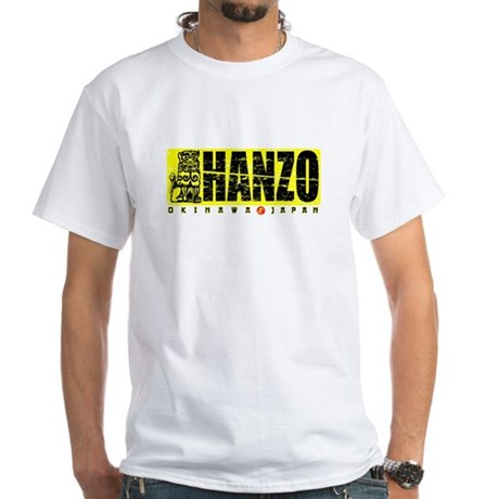 Hanzo Distress White T-Shirt