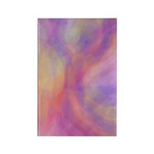 Purple Fairy Dancing Rectangle Magnet