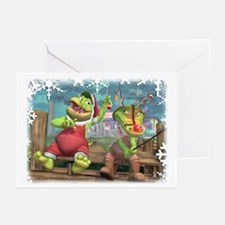 Christmas Gators Greeting Cards (Pk of 20)