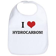 I Love Hydrocarbons Bib