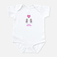 Twincess - Twin Princess Infant Bodysuit