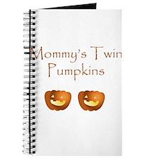 Mommy's twin pumpkins Journal