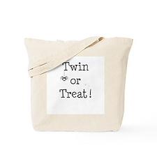 Twin or Treat! Tote Bag