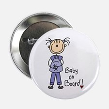 "Baby on Board 2.25"" Button"