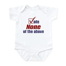 Cute Mccain for president Infant Bodysuit
