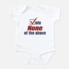 Unique Palin for president Infant Bodysuit