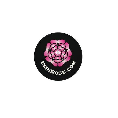Esri Rose Mini Button (100 pack)