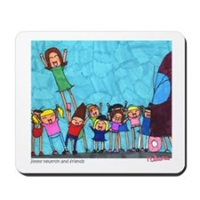 Jimmy and Friends Mousepad